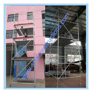 Ce Approved Ringlock System Scaffolding for Building pictures & photos