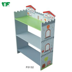 New Designed Children Wooden Book Shelf pictures & photos