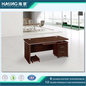 Modern Brown Walnut Melamine Boss Office Furniture