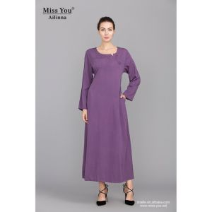 Miss You Ailinna 801738 Ladies Beautiful Elegant Chinese Style Long Dress pictures & photos