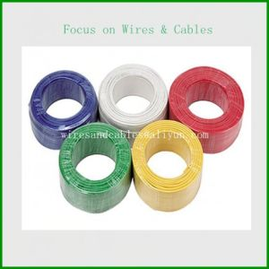 PVC Insulated Electrical Wire, Flame Retardant Electric Cable pictures & photos