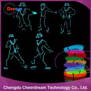 Colorful EL Wire Neon Rope Light for Decoration pictures & photos