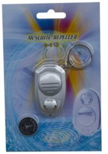Portable Keychain Electronic Ultrasonic Mosquito Repeller pictures & photos
