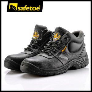 Safetoe Brand PU Injection Industrial Safety Work Shoes pictures & photos