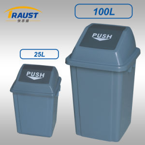 Types of Capacity Plastic Waste Bin pictures & photos