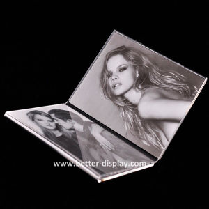 Roating Acrylic Photo Frame Plastic Picture Frame pictures & photos