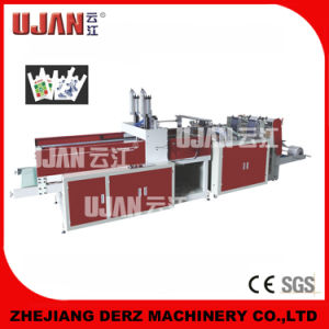 T-Shirt Bag Heat-Cutting Bag Making Machine with Full Automatic High Speed pictures & photos