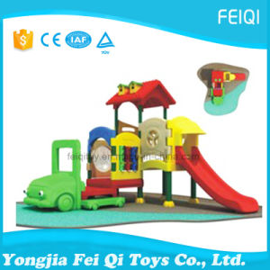 Import Supplier Plastic Play House with Slide Full Plastic Series (FQ-YQ08202) pictures & photos