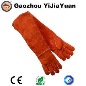 24 Inch Leather Protection Industrial Labor Welding Work Gloves pictures & photos
