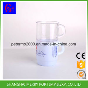 Plastic Cup Disposable Cup Coffee Mugs 12 Oz Tableware with Handles pictures & photos