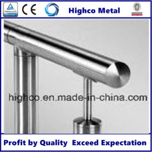 Stainless Steel Handrail with End Cap pictures & photos