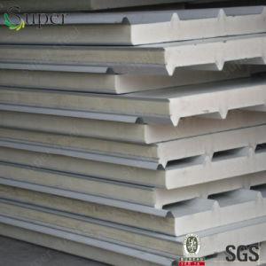Heat-Insulated Decoration Steel Sheet PU Polyurethane Foam Sandwich Panel pictures & photos