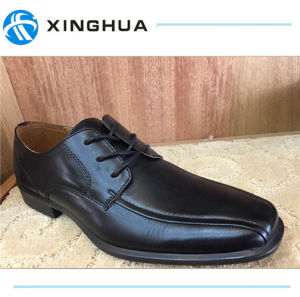 Good Price Black Men Office Shoes pictures & photos