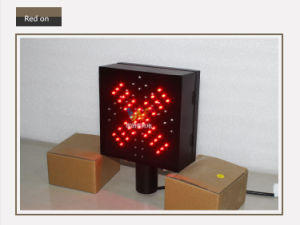 200mm Toll Station Stop Go Red Green LED Traffic Light pictures & photos