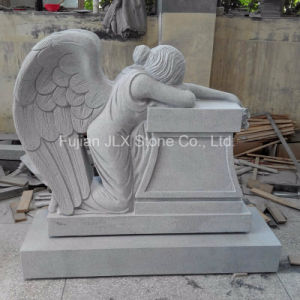 American Carved Weeping Angel Design Granite Monument pictures & photos