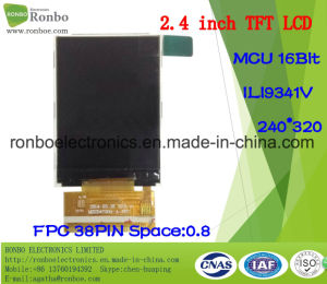 "2.4"" 240X320 MCU 16bit 38pin TFT LCD Module for POS, Doorbell, Medical pictures & photos"