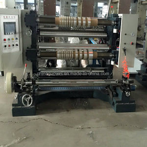 Automatic PLC Control Slitting and Rewinding Machine with 200 M/Min (CE) pictures & photos