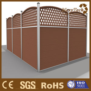 Wood Plastic Composite Wp Top Wal Private Fence pictures & photos