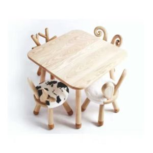 Solid Wood Baby Stool Children Furniture pictures & photos