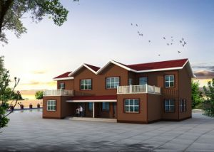 Customized for Post-Disaster Reconstruction Prefabricated House pictures & photos