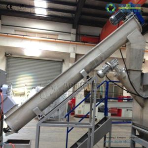 Plastic Recycling Machine in High-Sands AG Film Washing Machine pictures & photos