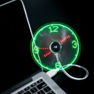 LED Digital Clock Creativity Individuality Novelty Fan pictures & photos