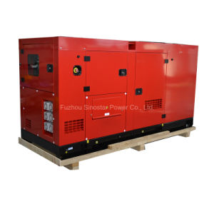 Silent Diesel Genset 50kVA 40kw Powered by Perkins Engine