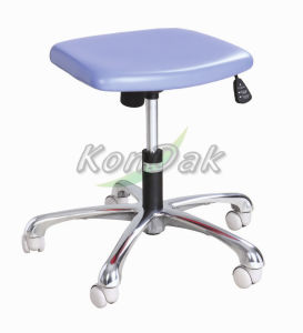 Stainless Steel Clinic Stool with Castors pictures & photos