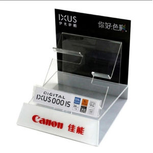 Custom Shop Camera Acrylic Tabletop Stand, Point of Sale Display pictures & photos