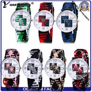 Yxl-217 Fashion Watches Daimond Rose Gold Plated Mens Nylon Strap Wristwatches Men′s Quartz Popular Sports Watches Relogio Masculino pictures & photos
