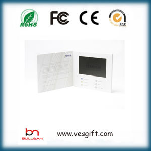 Customized 7.0 Inch TFT LCD Promotion Video Greeting Card pictures & photos