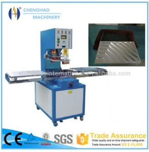 12kw Single Head High Frequency PVC Welding Machine for Car Foot Mat Welding pictures & photos