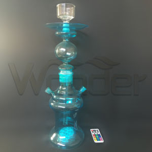 Colored Smoke Hookah blue for Import Country