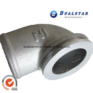 Aluminum Elbow Gravity Casting Spare Part for Heating System pictures & photos