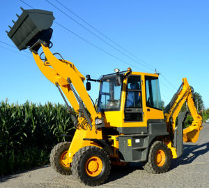 China Backhoe Front End Loader with Ce pictures & photos