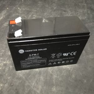 Small Rechargeable Lead Acid Battery 12V 7ah pictures & photos
