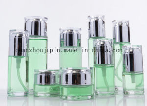 OEM Glass Cream Jar Lotion Cosmetic Perfume Bottle Set pictures & photos