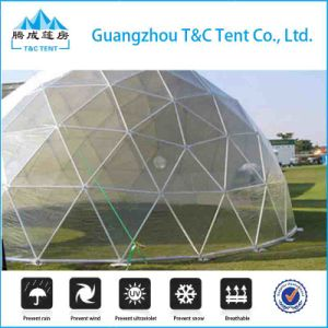 Metal Frame Fiberglass FRP Dome House Tent, Dome Geodesic for Sale pictures & photos