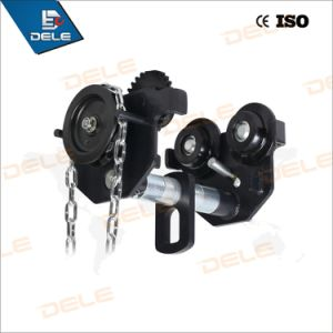 Supply 0.5t to 5t Trolley Push Gear Trolley pictures & photos