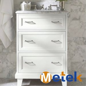 China Suppliers Bathroom Furniture Used Bathroom Vanity Cabinets pictures & photos