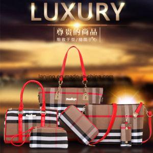Bw1-198 Duffel Sports Bags Women′s Bag Leather Handbag 6PCS Sets pictures & photos