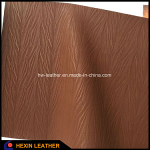 New Design Synthetic PU Leather for Shoes Hx-S1716 pictures & photos