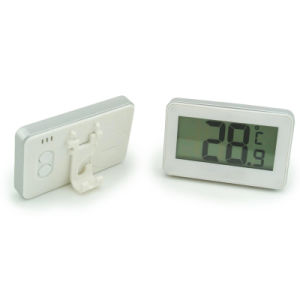 Simple Operating Digital Fridge Freezer Thermometer with Hook pictures & photos