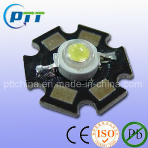 1W Cool White High Power LED, 6000-7000k, 120-130lm, 140-160lm, LM80 pictures & photos