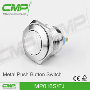 16mm High Head Push Button Switch pictures & photos