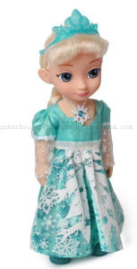 Custom Kids Children Frozen Plastic Princess Figure Doll Toy pictures & photos
