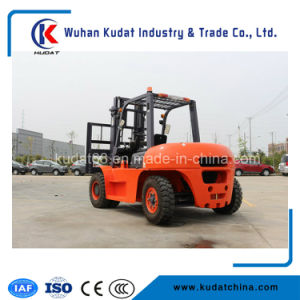 6ton Automatic Transmission Diesel Forklift Truck pictures & photos