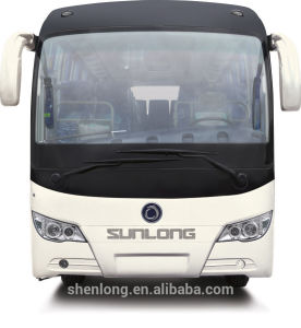 Passenger Bus 31-50 Seats Tourist Bus Diesel Engine (SLK6112A) pictures & photos