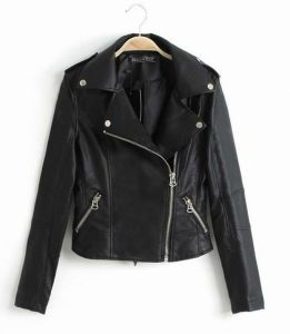 Women′s Fashion Jacket PU, Clothing, Fashion pictures & photos