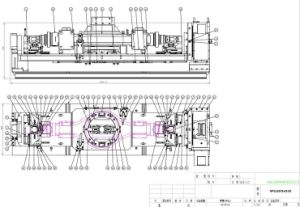 C Type Axle 4-Axis Hydraulic Fixture pictures & photos